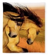 The Buckskins Fleece Blanket