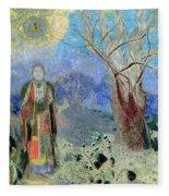The Buddha Fleece Blanket