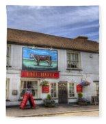 The Bull Pub Theydon Bois Panorama Fleece Blanket