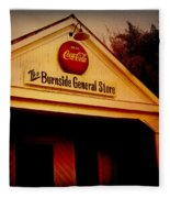 The Burnside General Store Fleece Blanket