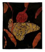 The Butterfly Effect Fleece Blanket