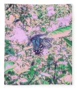 The Butterfly Fleece Blanket