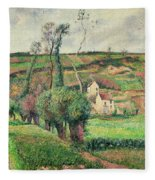 The Cabbage Slopes Fleece Blanket