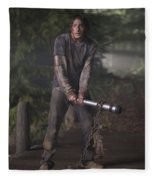 The Cabin In The Woods Fleece Blanket