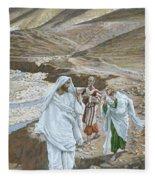 The Calling Of St. Andrew And St. John Fleece Blanket