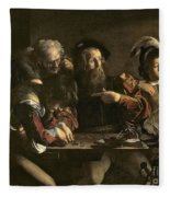 The Calling Of St. Matthew Fleece Blanket