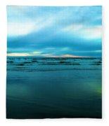 The Calm Of The Ocean Fleece Blanket