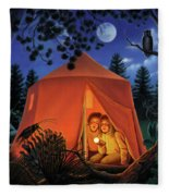The Campout Fleece Blanket