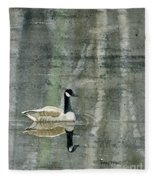 The Canadian Goose Fleece Blanket