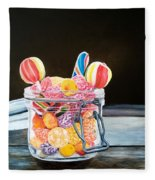 The Candy Jar Fleece Blanket