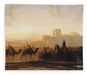 The Caravan Fleece Blanket