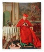 The Cardinal's Favourite Fleece Blanket
