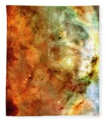 The Carina Nebula Panel Number One Out Of A Huge Three Panel Set Fleece Blanket