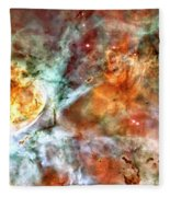 The Carina Nebula Panel Number Two Out Of A Huge Three Panel Set Fleece Blanket