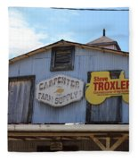 The Carpenter Farm Supply Fleece Blanket
