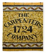 The Carpenters Company Fleece Blanket