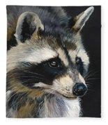 The Cat Food Bandit Fleece Blanket