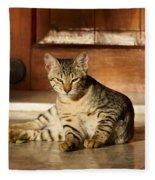 The Cat Fleece Blanket