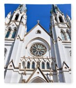 The Cathedral Of St. John The Baptist Fleece Blanket