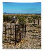 The Cemetery Fleece Blanket