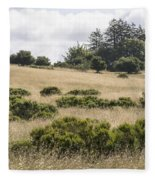 The Central Coast In May Fleece Blanket
