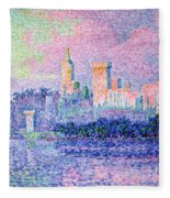 The Chateau Des Papes Fleece Blanket