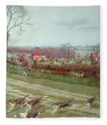 The Cheshire Away From Tattenhall Fleece Blanket