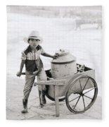 The Chiapas Boy Fleece Blanket