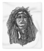 The Chief Fleece Blanket