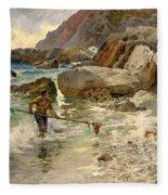 The Children Of The Sea - Capri Fleece Blanket