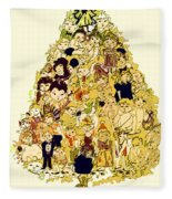 The Children Tree Fleece Blanket