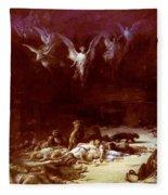 The Christian Martyrs Fleece Blanket