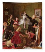 The Christmas Hamper Fleece Blanket