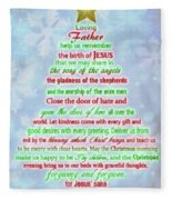 The Christmas Prayer Fleece Blanket