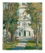 The Church At Gloucester, 1918 Fleece Blanket