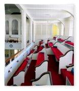 The Church Balcony Fleece Blanket