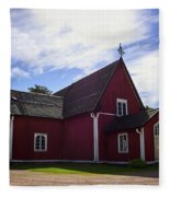 The Church Of Kustavi Fleece Blanket