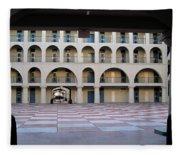 The Citadel In Charleston Iv Fleece Blanket