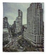 The City Shuffle Fleece Blanket