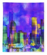 The City  Sydney Fleece Blanket