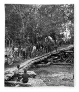The Civil War: Soldiers Fleece Blanket