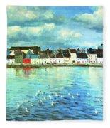 The Claddagh Galway Fleece Blanket
