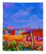 The Clothesline Fleece Blanket
