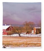 The Codori Farm Fleece Blanket