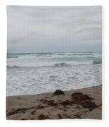 The Cold Sea Fleece Blanket