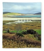 The Colors Of The Bay Fleece Blanket