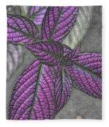 The Color Purple Fleece Blanket