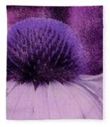 The Color Purple Fleece Blanket