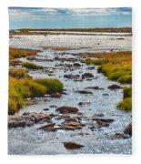 The Colorado Tundra Fleece Blanket