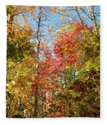 The Colors Of Autumn Fleece Blanket